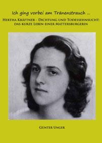 Katalog des 70er Hauses über die Ausstellung Hertha Kräftner (Günter Unger) - kraftner
